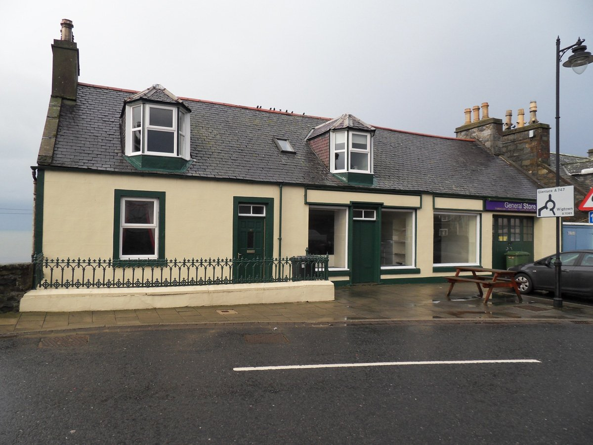House and Shop, 14-16 The Square, Port William, DG8 9SE
