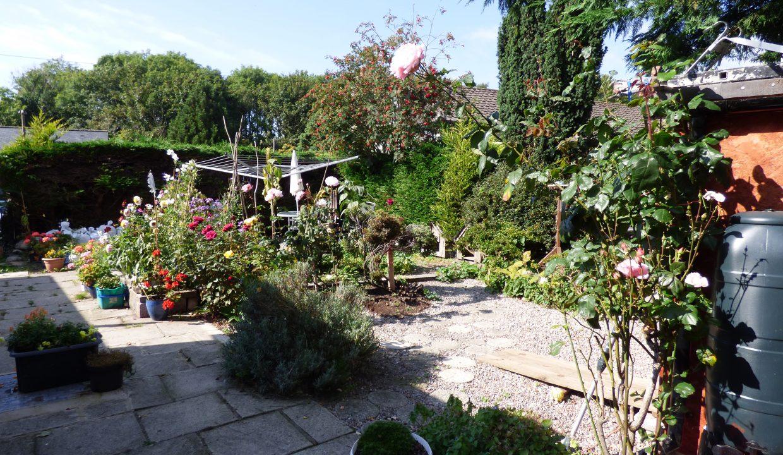 6 silver st - Garden view 2