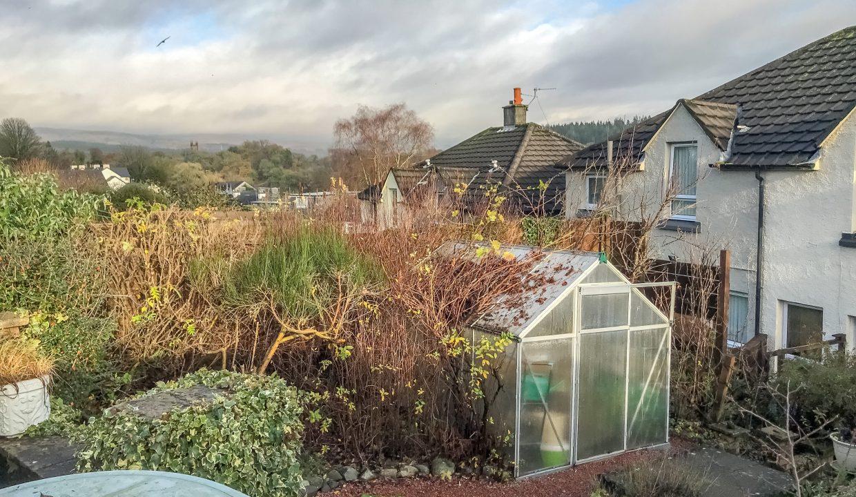 9 Garlies Crescent Rear Garden View