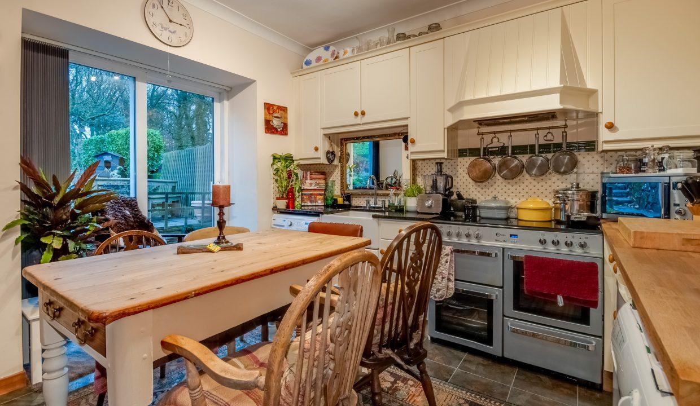 Alticry Lodge Kitchen View 1