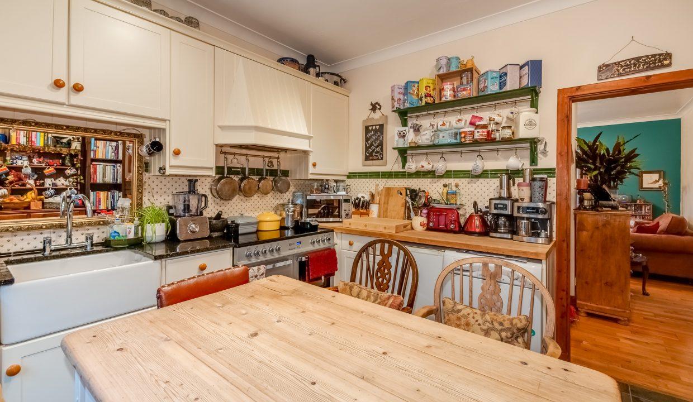 Alticry Lodge Kitchen View 2