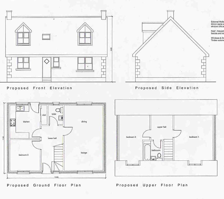 2 House Building Plots Beechwood Castle Kennedy, Wigtownshire