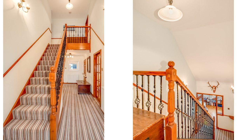 Caladh Phorst - Hall stairs landing