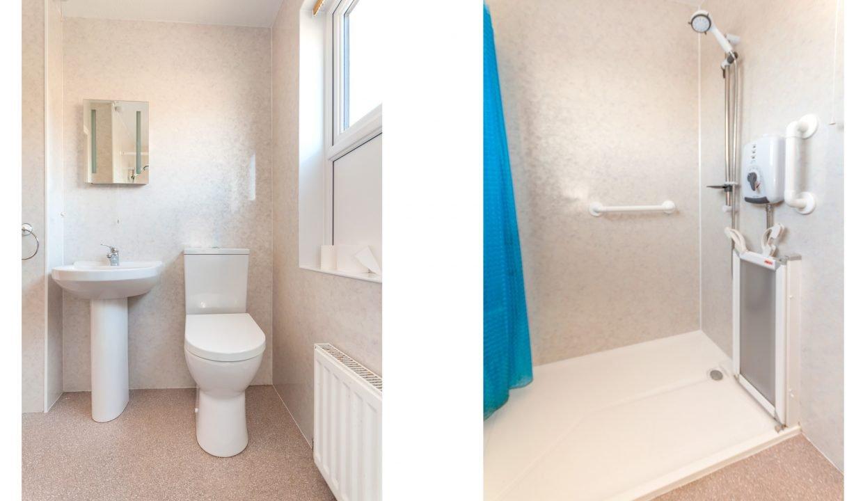 Cumberland House shower room