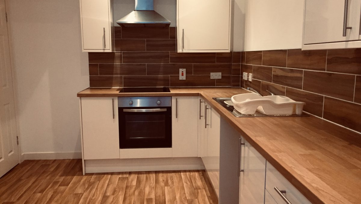 4 Hillview Apartments - Kitchen