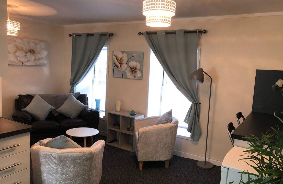 Queen Street Flats Unit 5 Sitting Room
