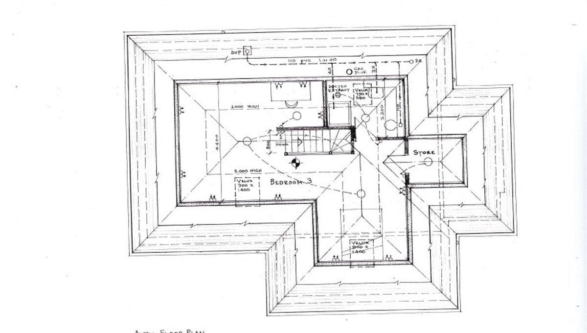 Rowallan Building Plot First Floor Plan