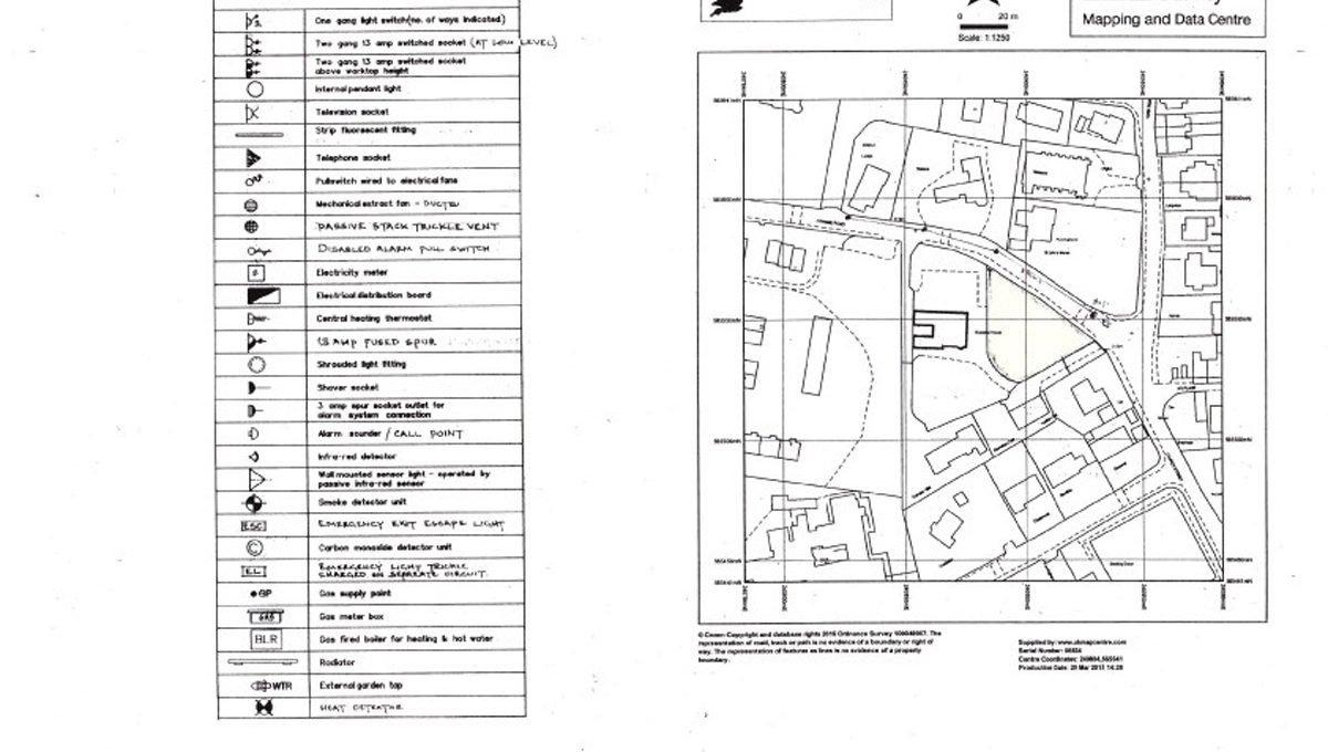 Rowallan Building Plot Location Map
