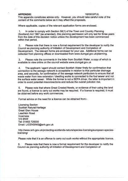Rowallan Building Plot Planning Papers 4