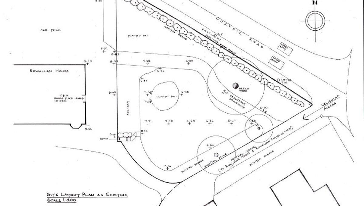Rowallan Building Plot Site Plan