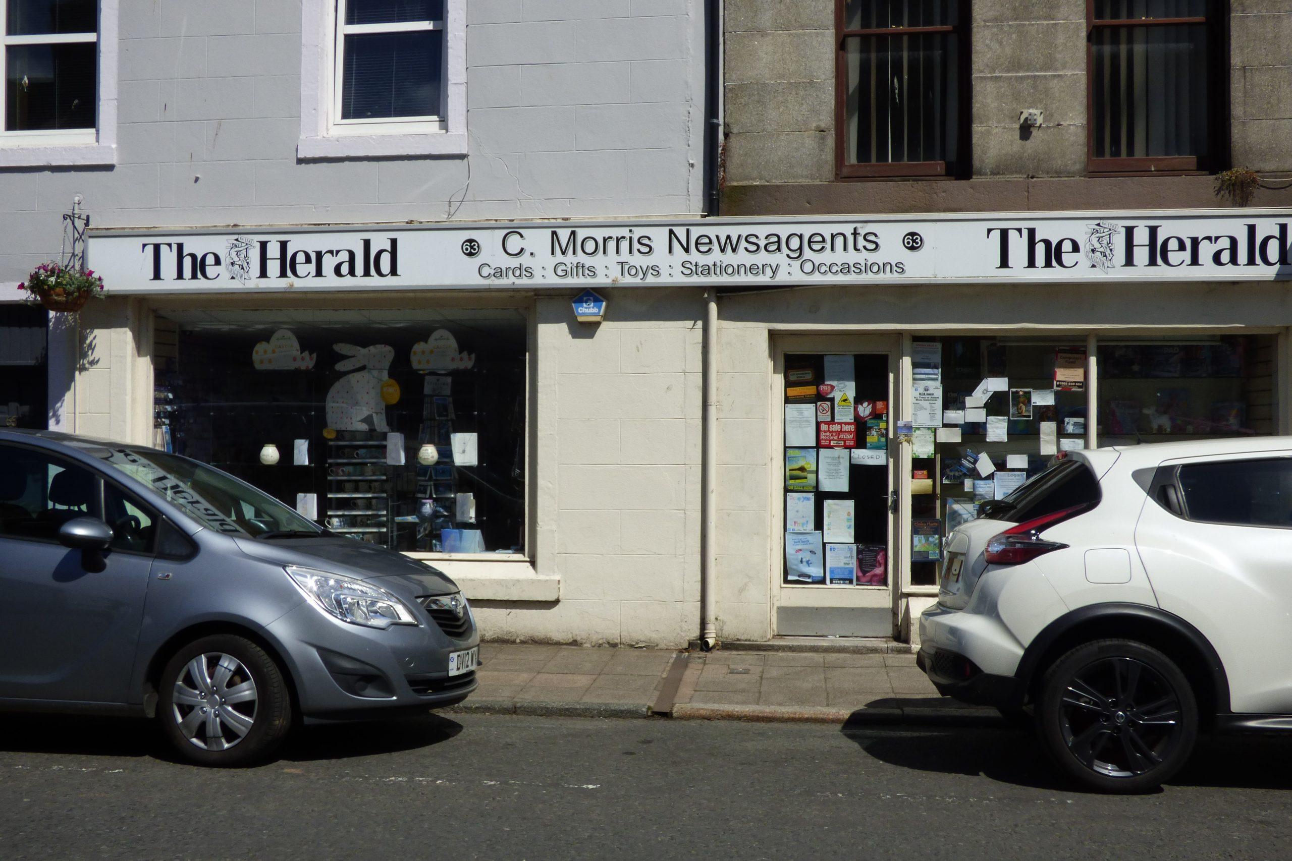 Shop Premises, 63, Victoria Street, Newton Stewart, DG8 6NL