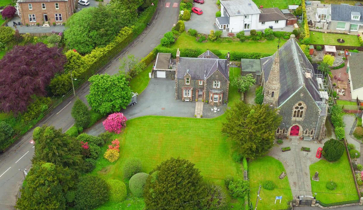 St Johns House - Aerial View