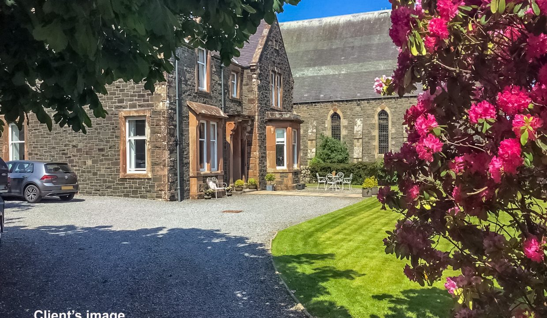 St Johns House - Driveway