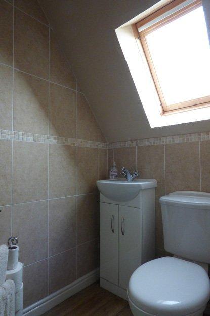White Rose Croft - Shower room view 2