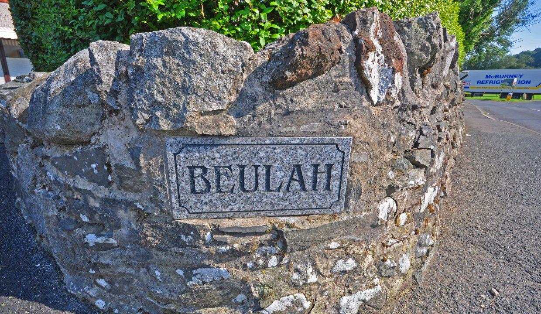 'beulah' nameplate