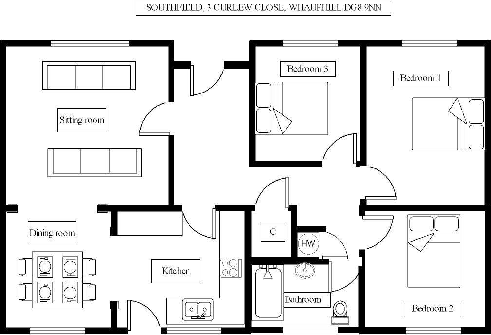 Southfield - Floorplan